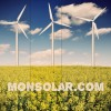 El viento de febrero dice que las renovables pueden abastecer al 46,8% del país